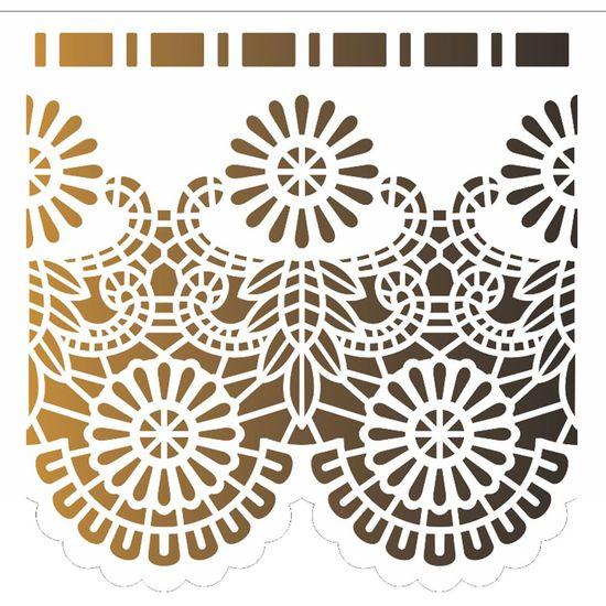 Stencil OPA 15x20 2576 Negativo Renda I