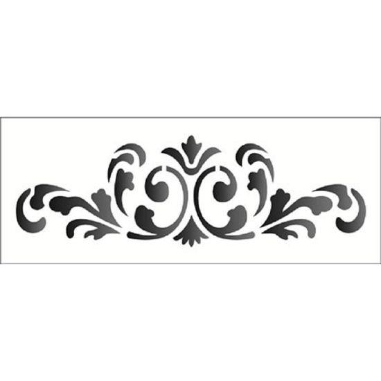 Stencil OPA 17x42 1221 Arabesco Colonial