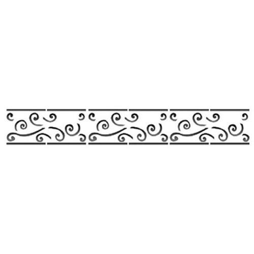 Stencil OPA 4x30 451 Arabesco Barroco