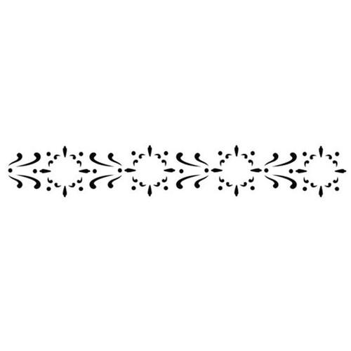 Stencil OPA 4x30 762 Arabesco Delicado