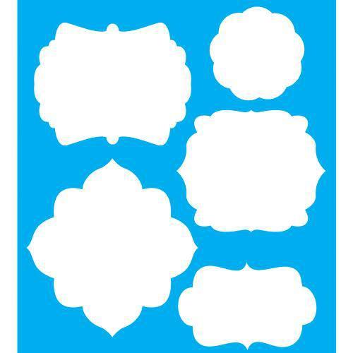 Stencil para Pintura 25x20 Molduras Lsg-001 - Litocart