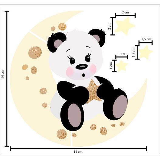 Stencil ST 403 Ursinho Panda