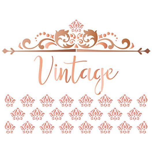Stencil STR 056 Arabesco Vintage