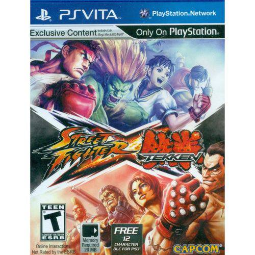 Street Fighter Vs Tekken - PS Vita