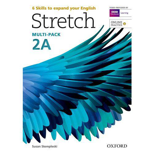 Stretch 2a - Student's Book & Workbook Multi-pack With Online Practice - Oxford University Press - e