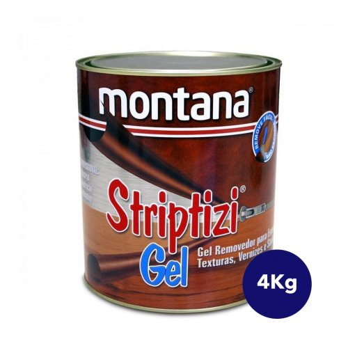 Striptizi Removedor Gel 4 Kg - Montana