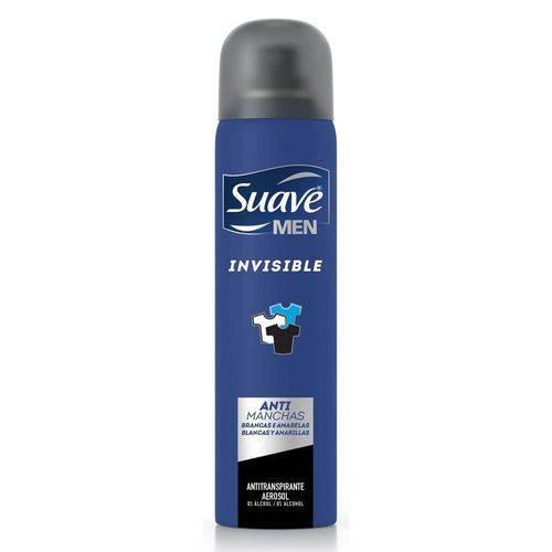 Suave Invisible Desodorante Aerosol Masculino 88g