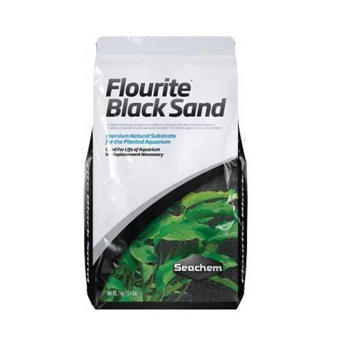Substrato Fértil Seachem Flourite Black Sand 7Kg