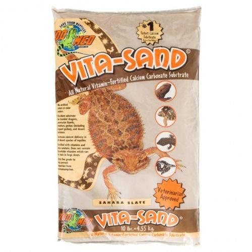 Substrato para Terrário Zoomed Vita-Sand Sahara Slate - Sand Sahara Slate 4,5kg