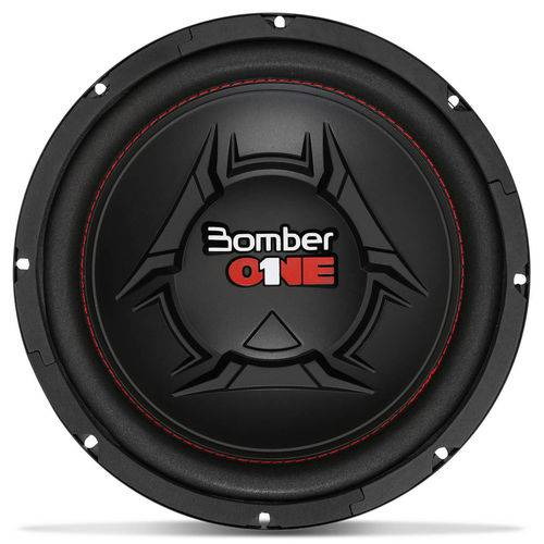 """Subwoofer Bomber One 10"""" 200W RMS 4 Ohms Bobina Simples"""