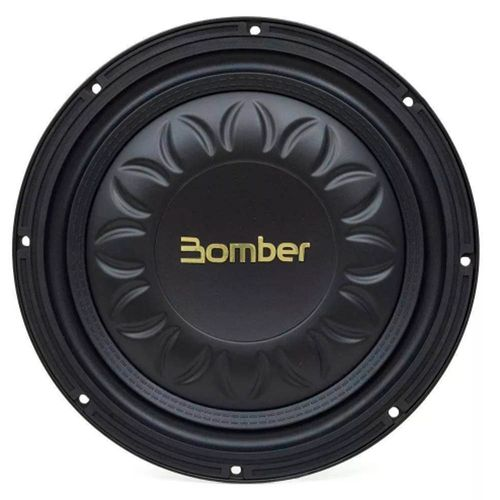 Subwoofer Bomber Slim High Power 12 Polegadas 400w Rms 4 Ohms