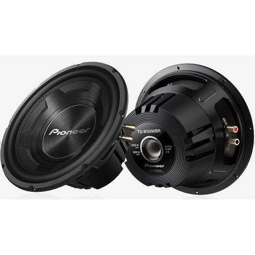 """Subwoofer Pioneer Ts-w3090br 12"""" 600w Rms 4+4 Ohms"""