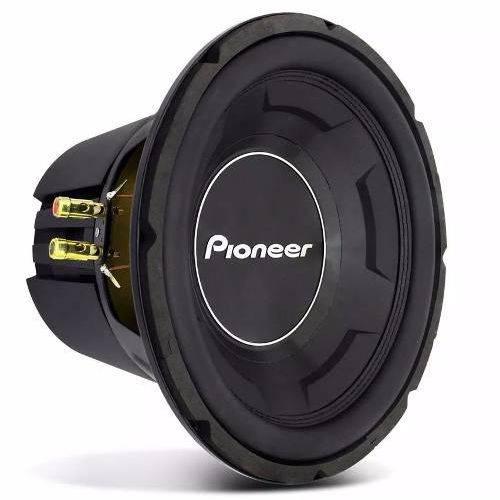 Subwoofer Pioneer Ts-w3090br 1200w 600w Rms Bobina Dupla 4+4 Ohms