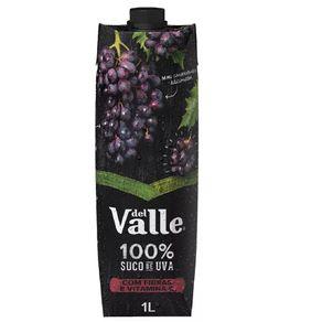 Suco de Uva Del Valle 100% Suco 1 Litro
