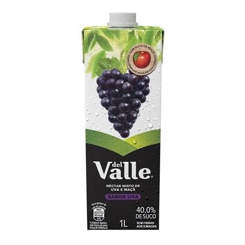 Suco Del Valle Néctar Uva com 1 Litro