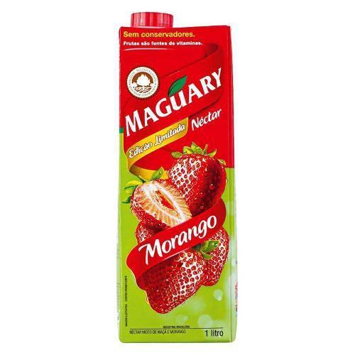 Suco Néctar Misto Morango 1l - Maguary