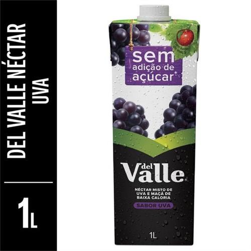 Suco Pronto Del Valle 1l Sem Acucar Uva