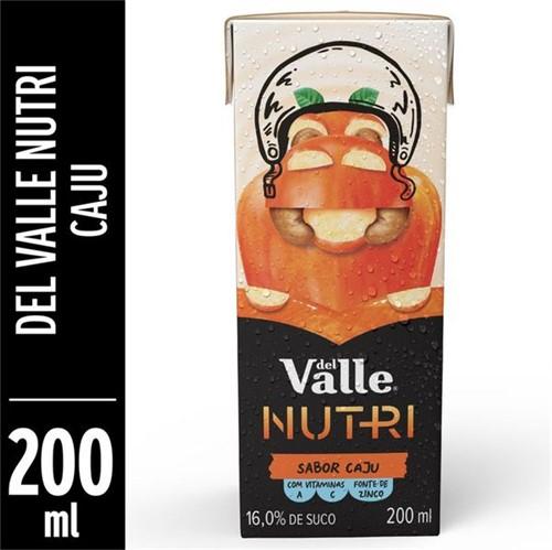 Suco Pronto Del Valle Nutri 200ml Caju