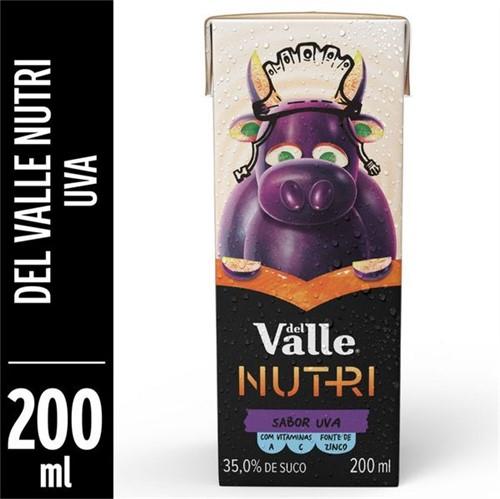 Suco Pronto Del Valle Nutri 200ml Uva