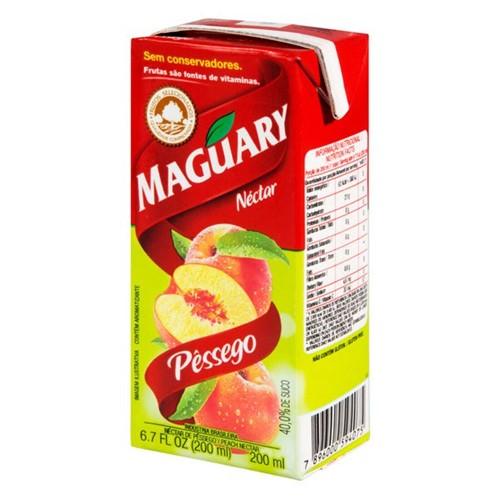 Suco Pronto Maguary 200ml Pessego