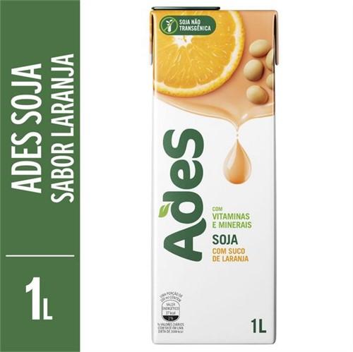 Suco Soja Ades 1l Laranja