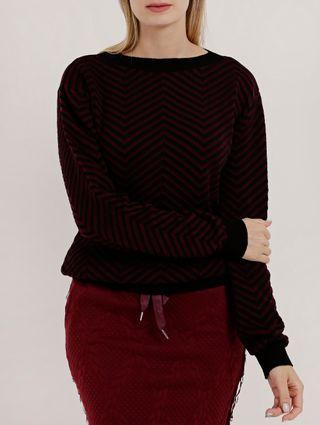 Suéter Feminino Bordô