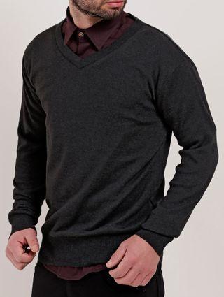 Suéter Masculino Preto