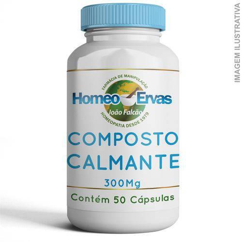 Sugestão de Fórmula Calmante - 50 Cápsulas