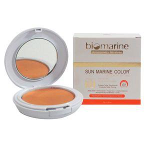 Sun Marine Color Compacto FPS52 Biomarine - Pó Compacto Bege