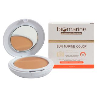Sun Marine Color Compacto FPS52 Biomarine - Pó Compacto Natural