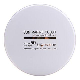Sun Marine Color Compacto FPS50 Biomarine - Pó Compacto 12g Bege