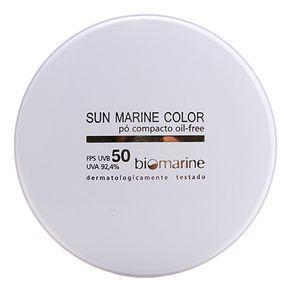 Sun Marine Color Compacto FPS50 Biomarine - Pó Compacto 12g Bronze