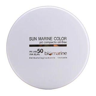 Sun Marine Color Compacto FPS50 Biomarine - Pó Compacto 12g Natural