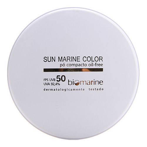 Sun Marine Color Compacto Fps50 Biomarine - Pó Compacto 12g