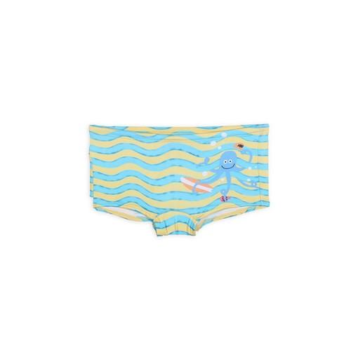 Sunga Moda Praia Sunga Avulso Azul e Amarelo/p