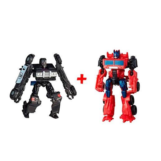 Super Kit Transformers Barricade e Optimus Prime - Hasbro