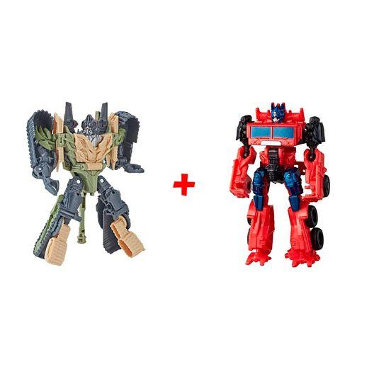 Super Kit Transformers Blitzwing e Optimus Prime - Hasbro