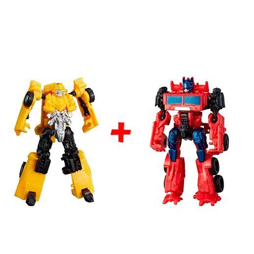 Super Kit Transformers Bumblebee e Optimus Prime - Hasbro