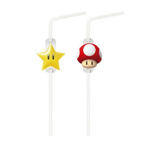 Super Mario Canudo C/20 - Cromus