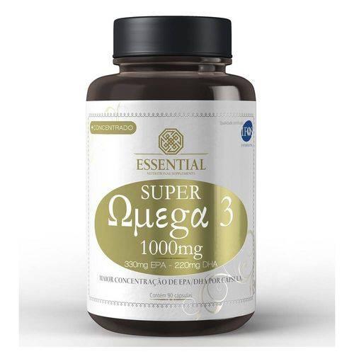 Super Ômega 3 - 90 Cáps. (1g) - Essential Nutrition