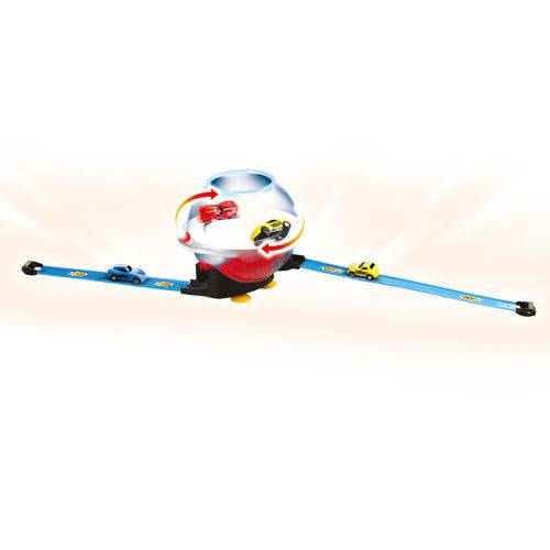 Super Pista Lançadora 360 - 2 Mini Carrinhos - Street Rod - Toyng
