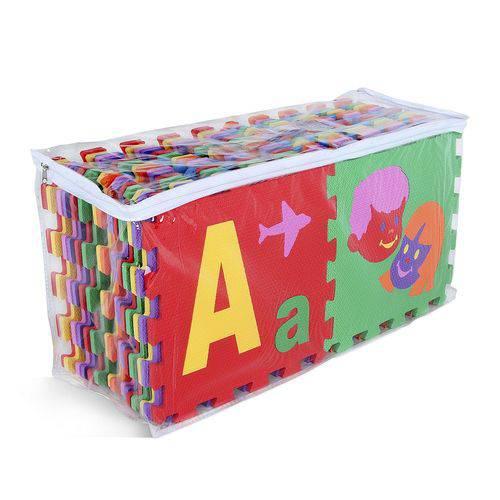 Super Tapete de Alfabeto com Bordas 56 Peças 0347 Carlu