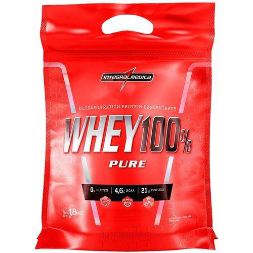 Super Whey 100% Chocolate 1,800 Kg - Integralmedica