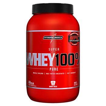 Super Whey 100% Pure 907g - IntegralMedica Super Whey 100% Pure 907g Baunilha - IntegralMedica