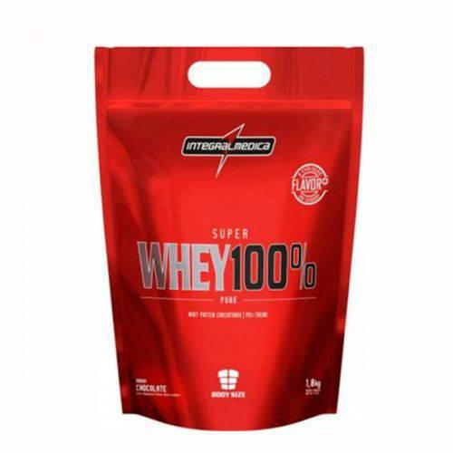 Super Whey 100% Pure - IntegralMedica - 907g - Refil - Chocolate