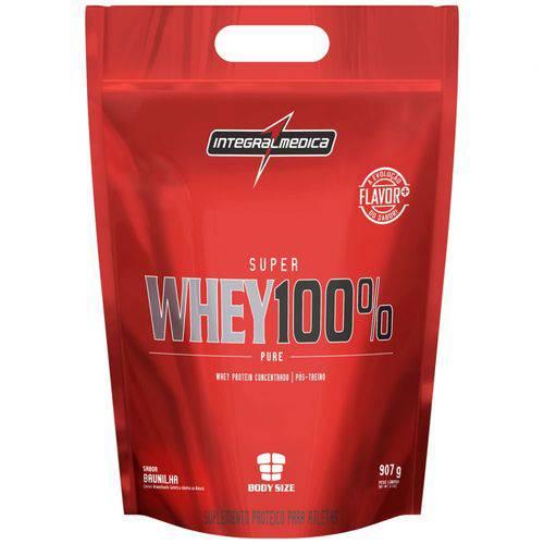 Super Whey 100% Pure Refil 907g Baunilha - Integralmédica