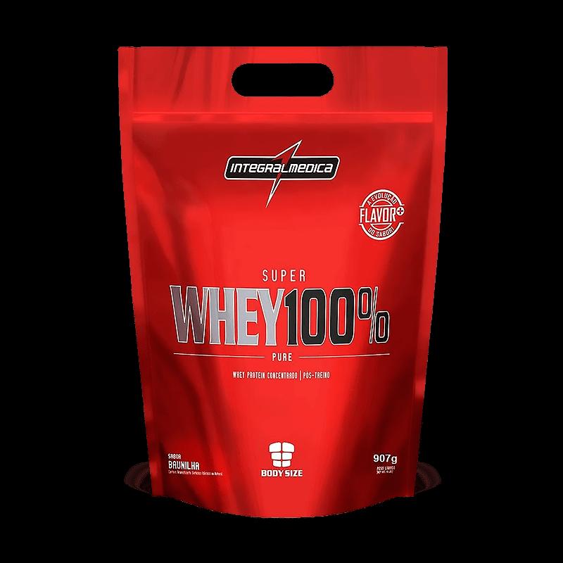 Super Whey 100% Pure (Refil 907g) Integralmedica