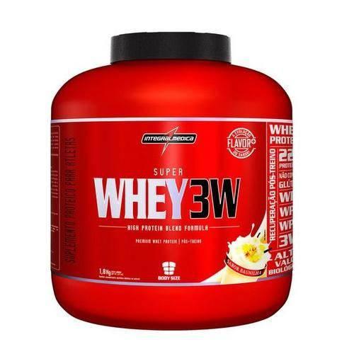 Super Whey 3w 1,8kg Baunilha - Integralmédica