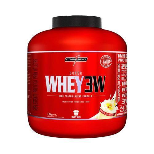 Super Whey 3w 1,8kg - Baunilha