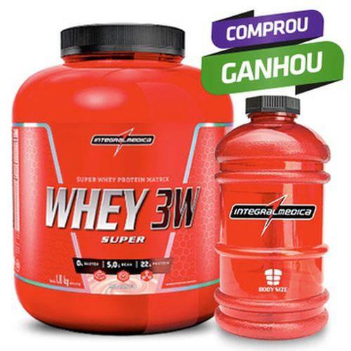 Super Whey 3w (1,8kg) - Body Size- Integralmedica
